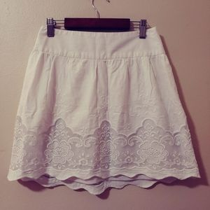 ❤ 3/20 White lace candies skirt